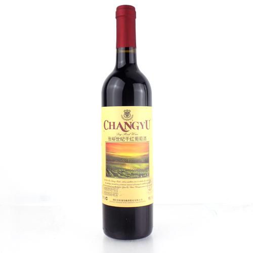 张裕世纪干红葡萄酒750ml(佐餐级)