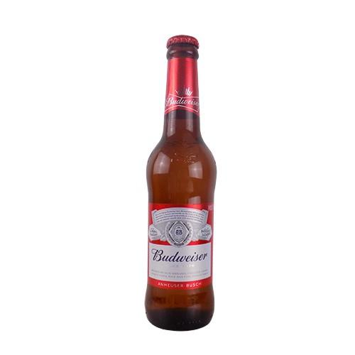 老百威啤酒瓶装330ml