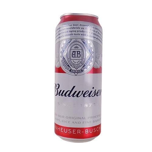 百威啤酒罐装500ml(无奖装)
