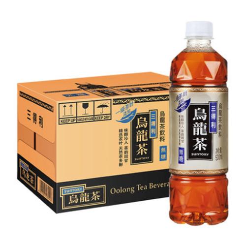 三得利乌龙茶饮料(无糖)500ml