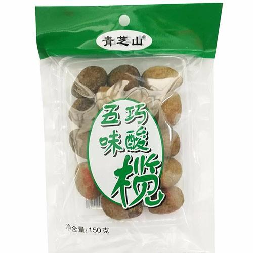 青芝山五味巧酸榄150g