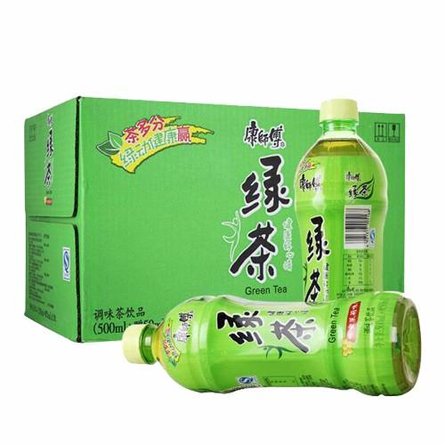 康师傅绿茶550ml