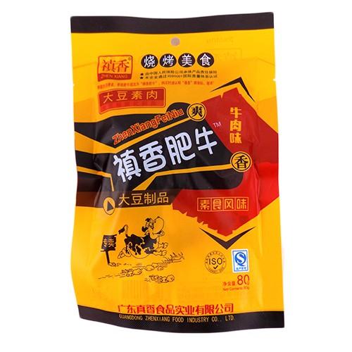 禛香肥牛大豆制品牛肉味80g