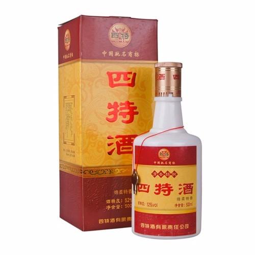 四特酒精品52度白酒绵柔特香 500ml