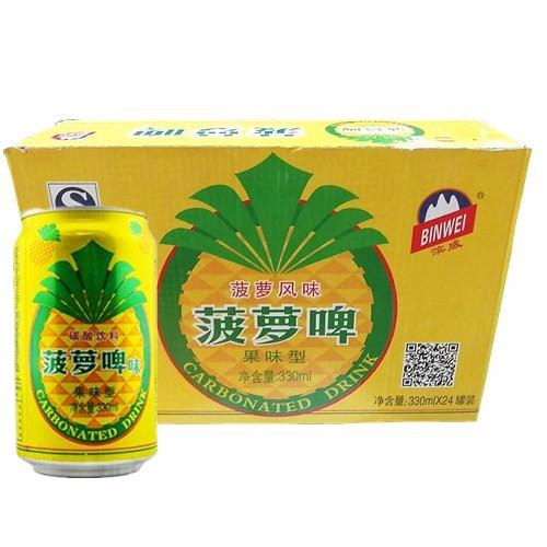 滨威菠萝啤320ml